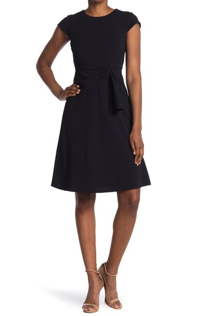 Image of Donna Morgan Ruched Fit & Flare Dress