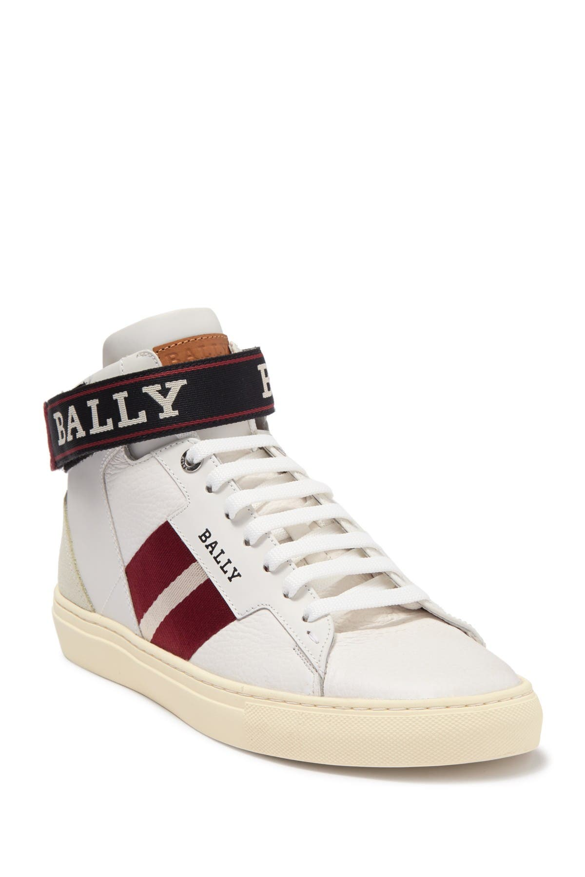 BALLY | Heros Leather High Top Sneaker