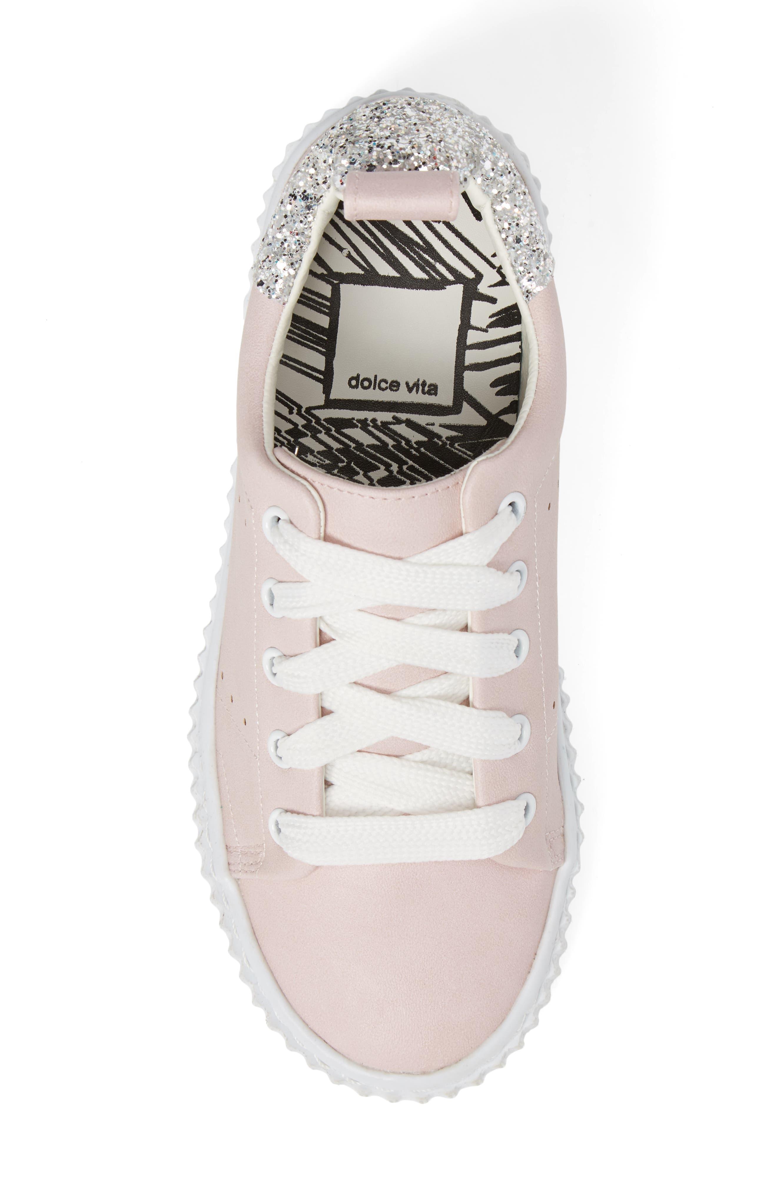,                             Wren Glitter Heel Sneaker,                             Alternate thumbnail 17, color,                             670