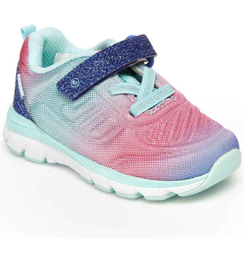 STRIDE RITE M2P Cora Sparkle Sneaker, Main, color, PURPLE/ PINK