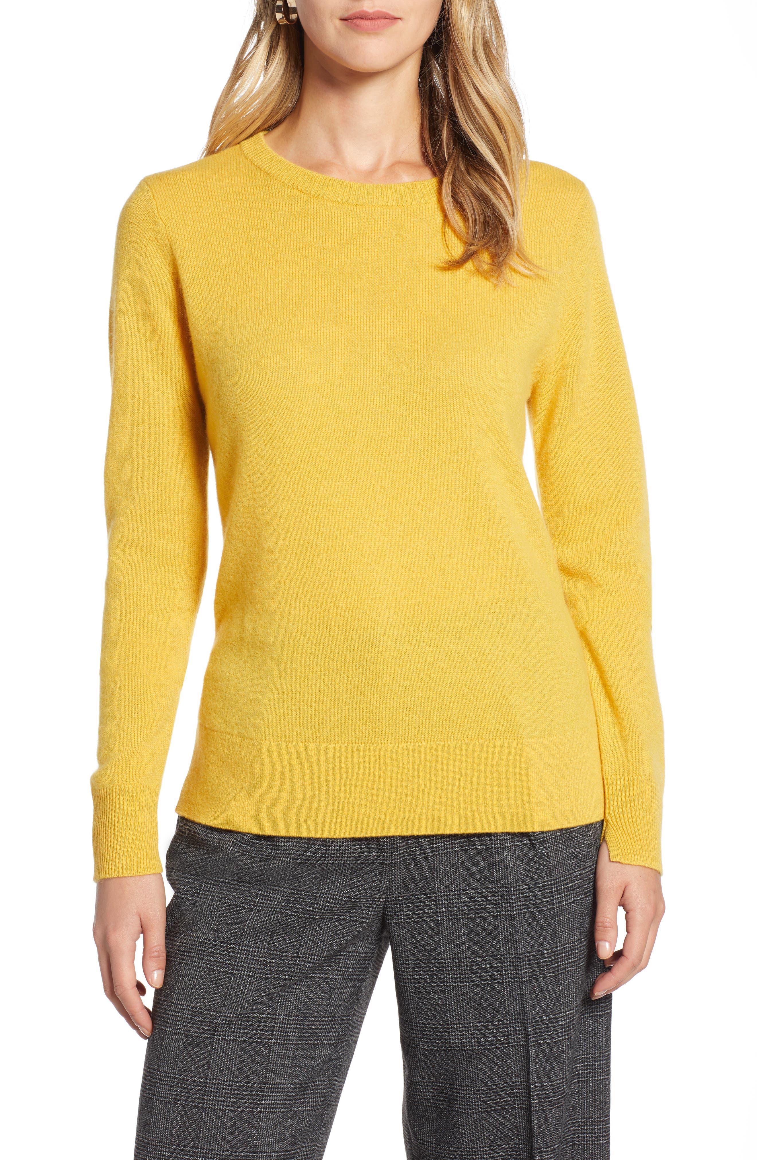 ,                             Crewneck Cashmere Sweater,                             Main thumbnail 221, color,                             720
