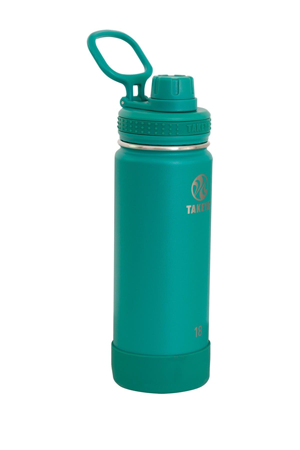 Image of Takeya Actives 18 oz. Spout Bottle - Evergreen