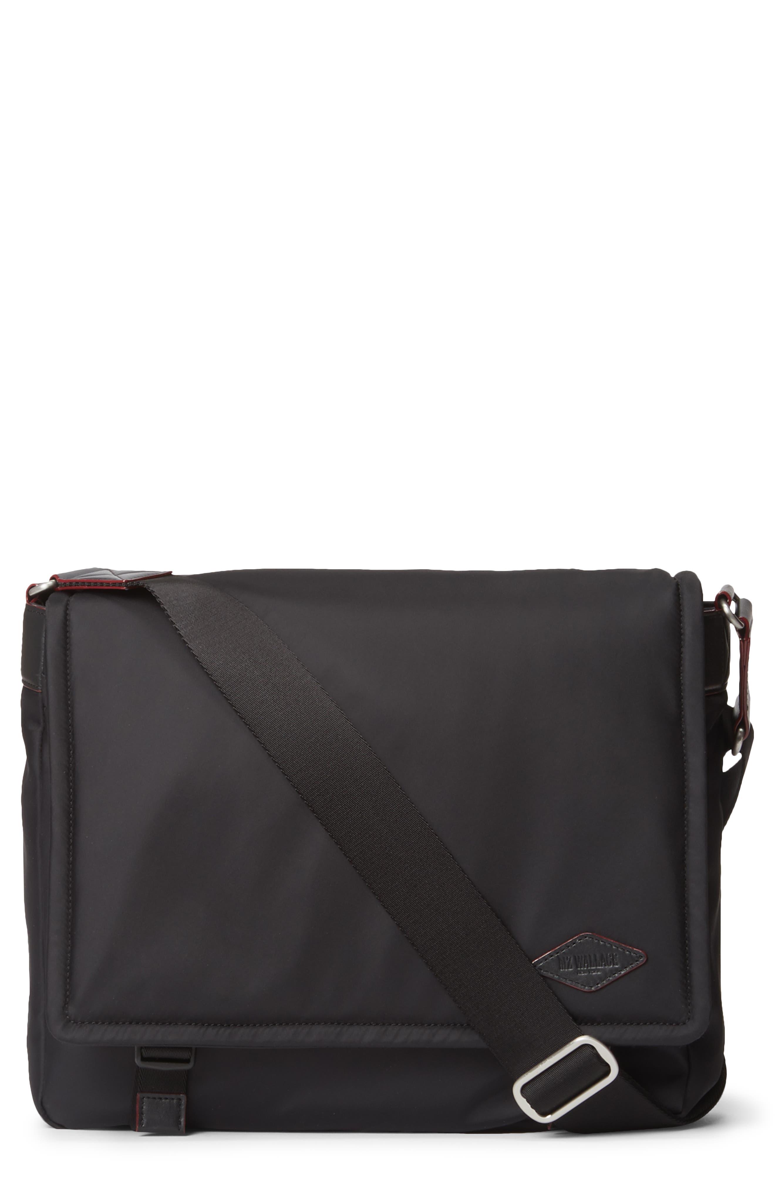 Mz Wallace Bleecker Nylon Messenger Bag - Black