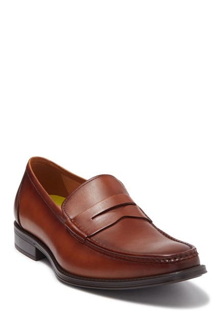Image of Florsheim Amelio Leather Penny Loafer