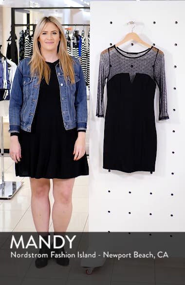 Point d'Esprit Trim Minidress, sales video thumbnail