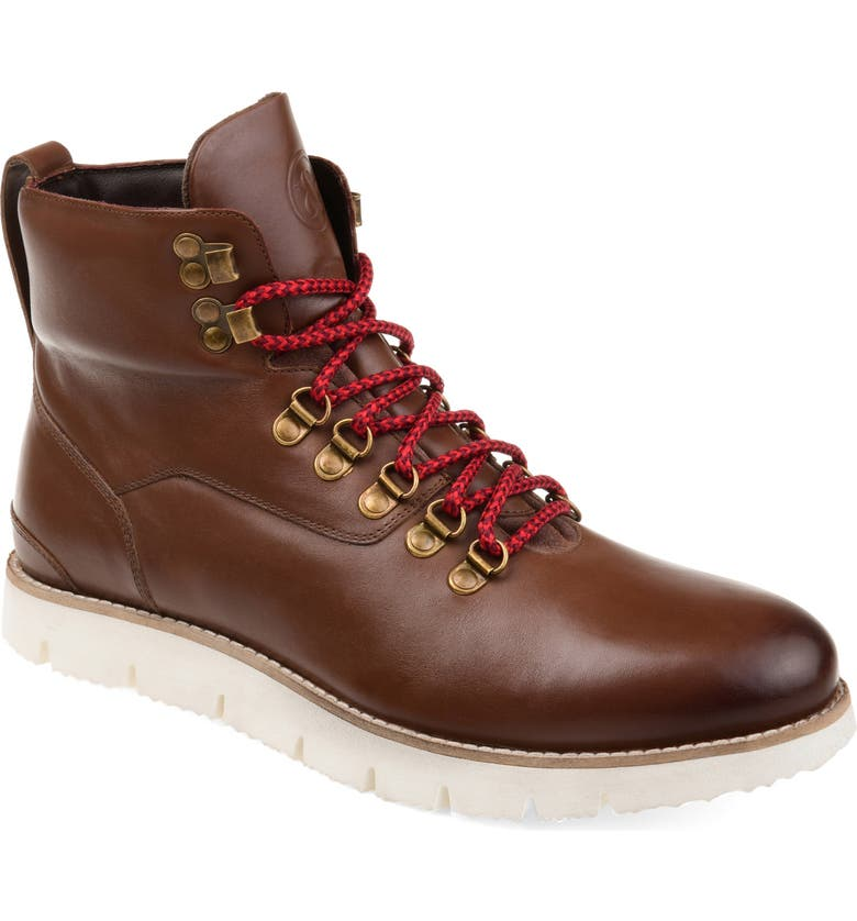 THOMAS & VINE THOMAS AND VINE Siege Boot, Main, color, BROWN LEATHER