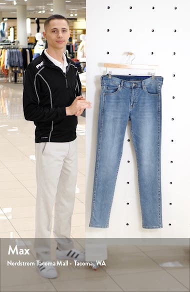 Snap Skinny Fit Jeans, sales video thumbnail