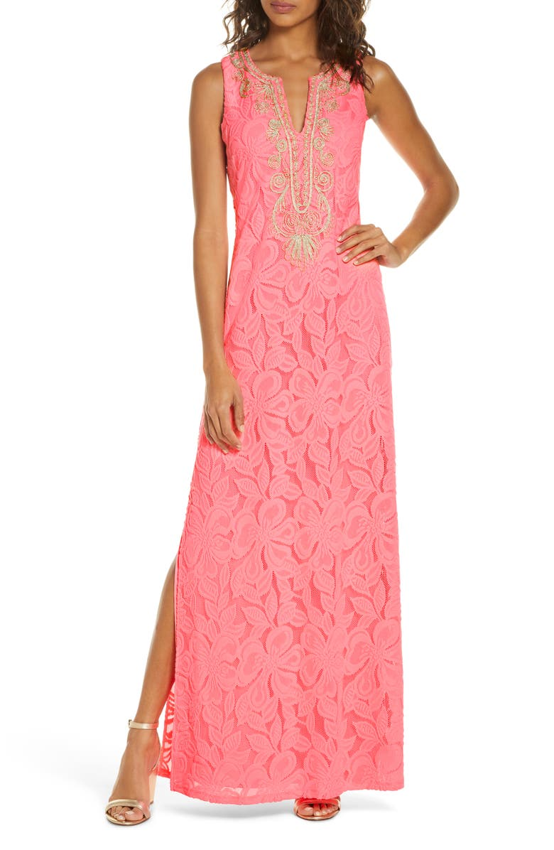 LILLY PULITZER<SUP>®</SUP> Carlotta Maxi Dress, Main, color, 650