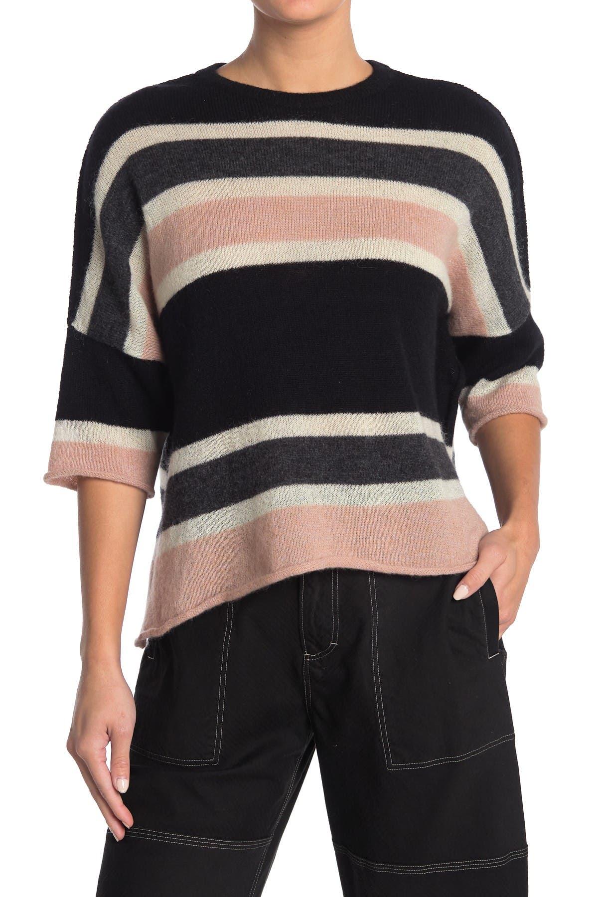 Image of Billy Reid Striped Boxy Sweater