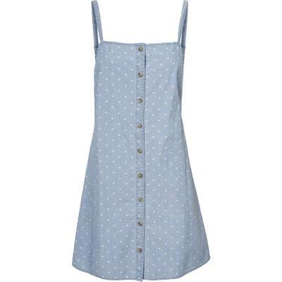 Vero Moda Mascha Chambray Minidress, Blue