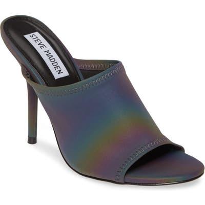 Steve Madden Metallic Slide Sandal, Metallic