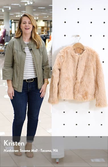 Faux Fur Jacket, sales video thumbnail