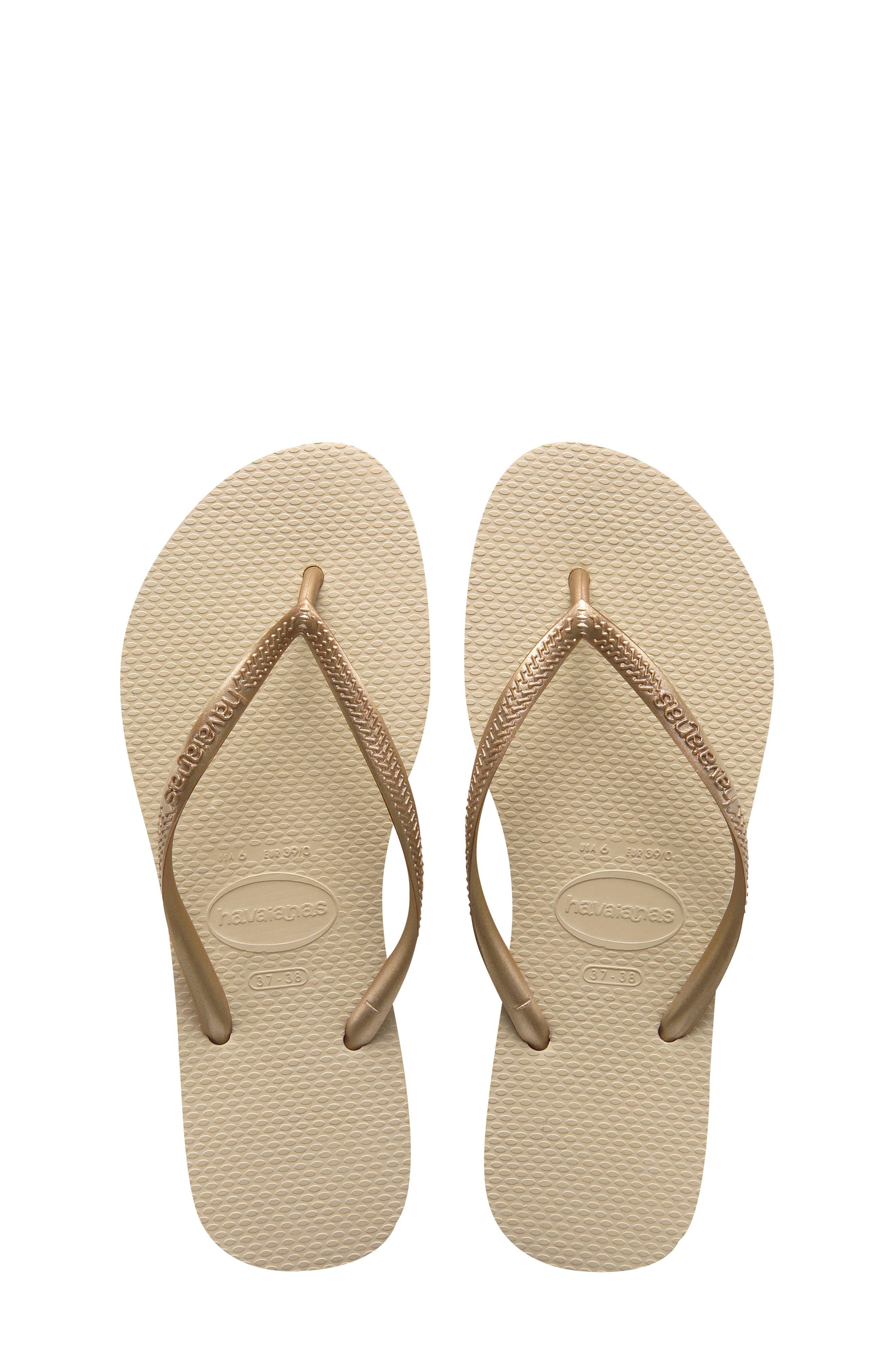 Kids Childrens Havaianas Kids Slim Frozen Lavander Thongs Sandal Flip Flop