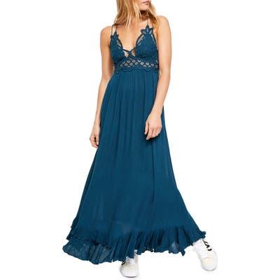 Free People Adella Maxi Slipdress, Blue