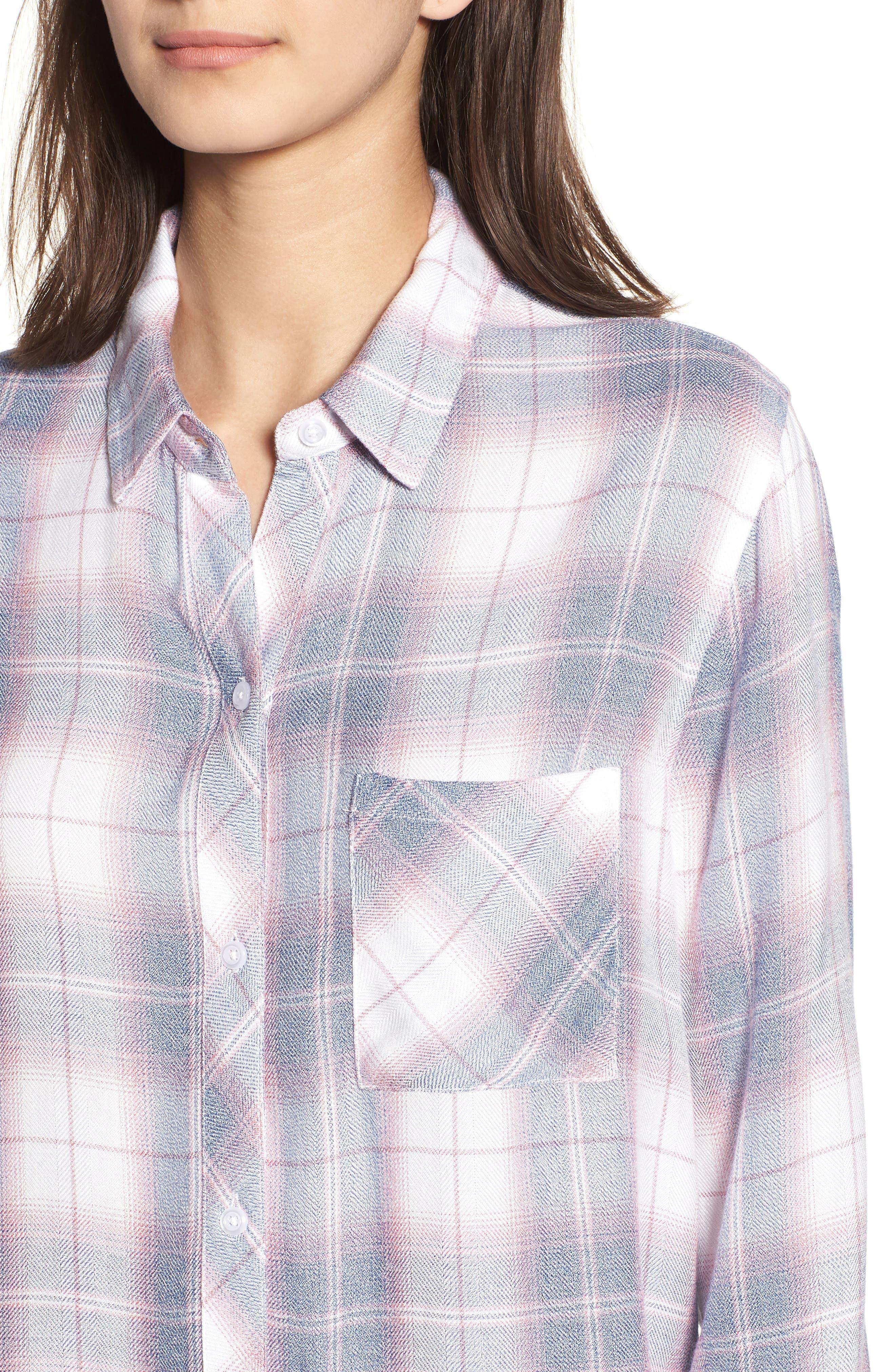 ,                             Hunter Plaid Shirt,                             Alternate thumbnail 834, color,                             439