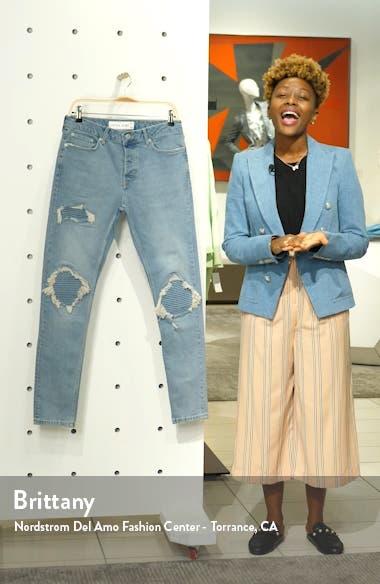 Biker Blowout Skinny Jeans, sales video thumbnail