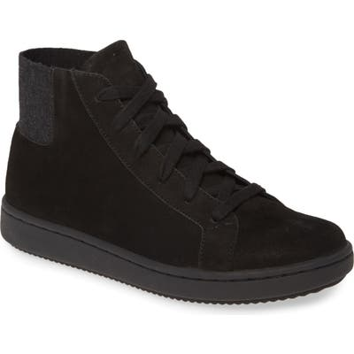 Eileen Fisher Gaze High Top Sneaker- Black