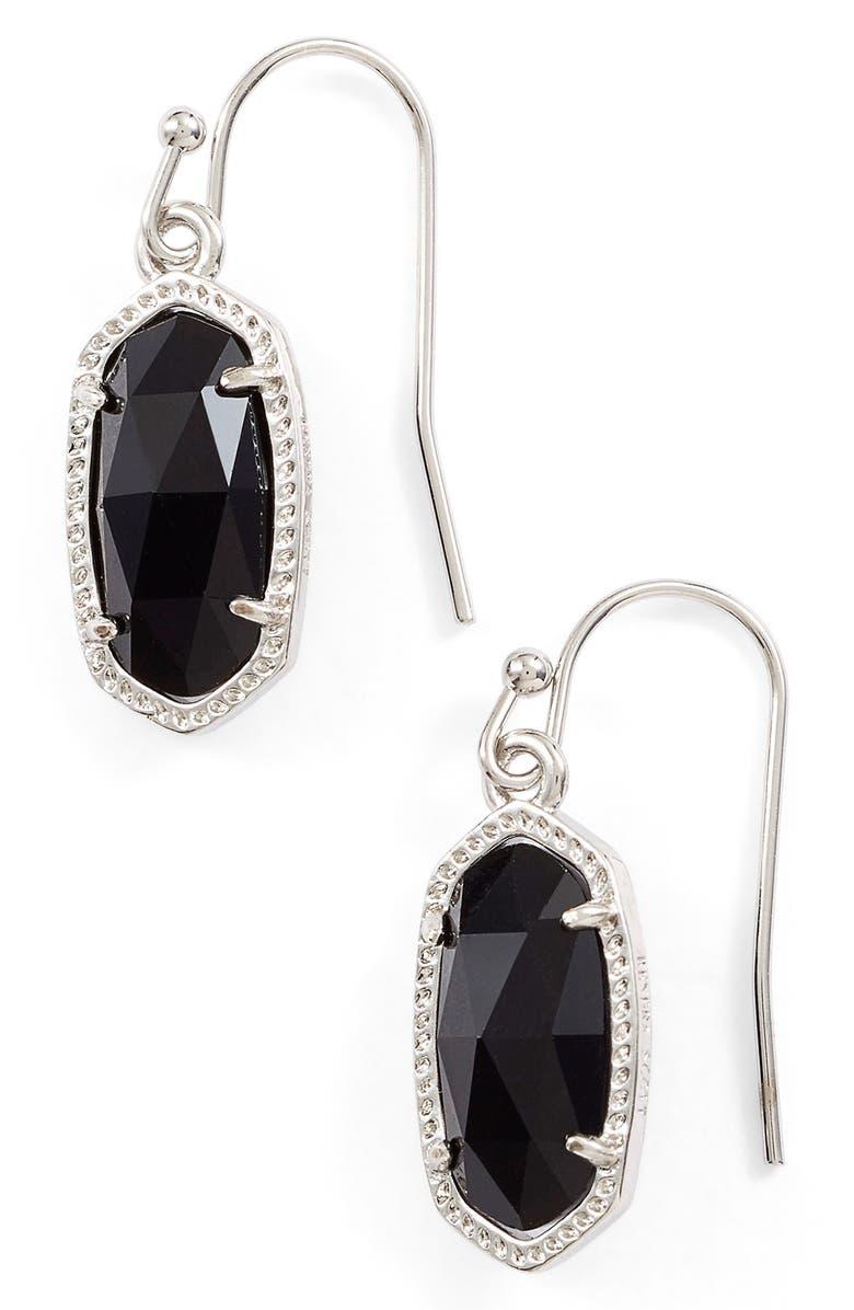 KENDRA SCOTT Lee Small Drop Earrings, Main, color, 001