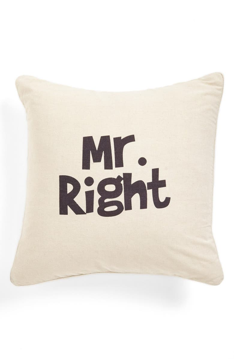 LEVTEX 'Tonight/Not Tonight' Pillow, Main, color, 250