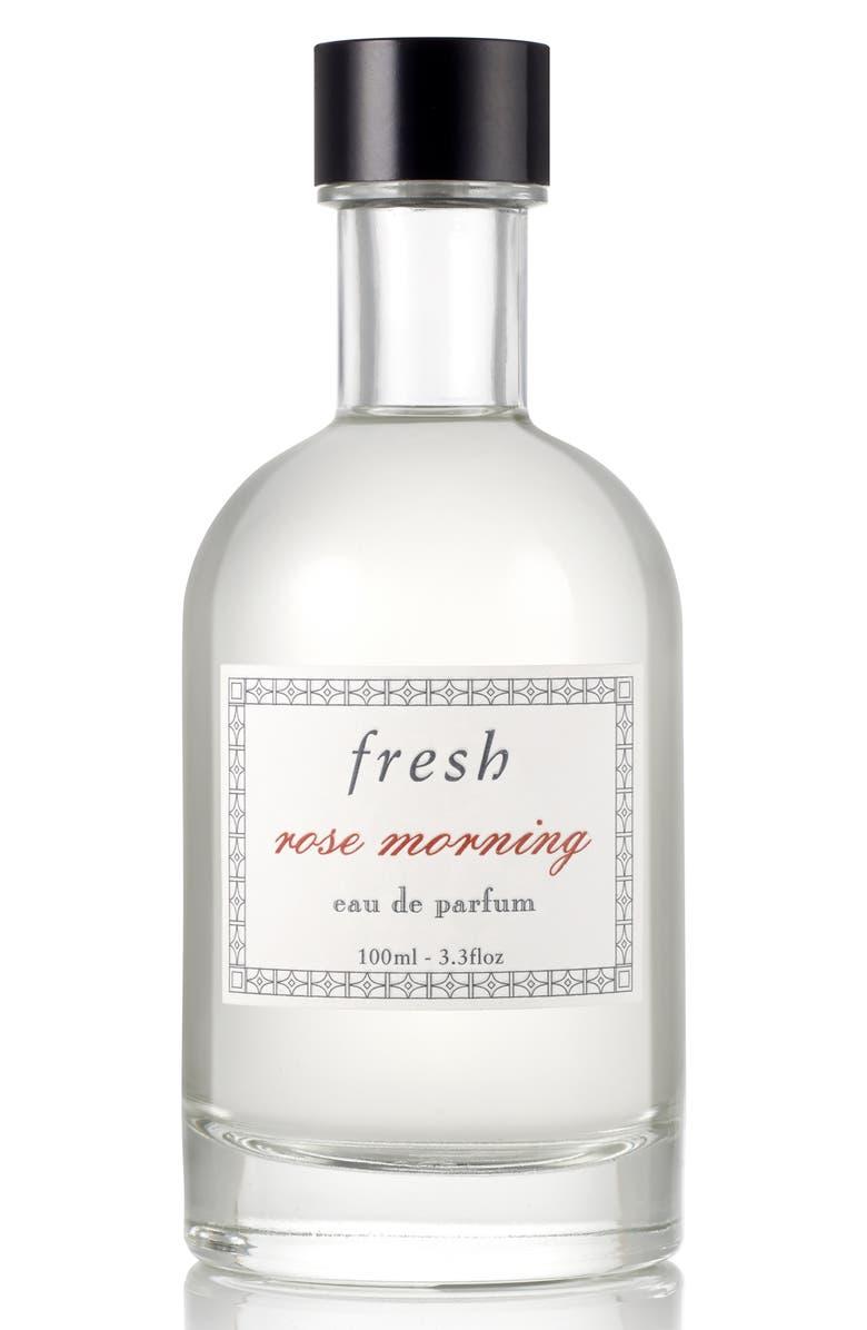 FRESH<SUP>®</SUP> Rose Morning Eau de Parfum, Main, color, NO COLOR