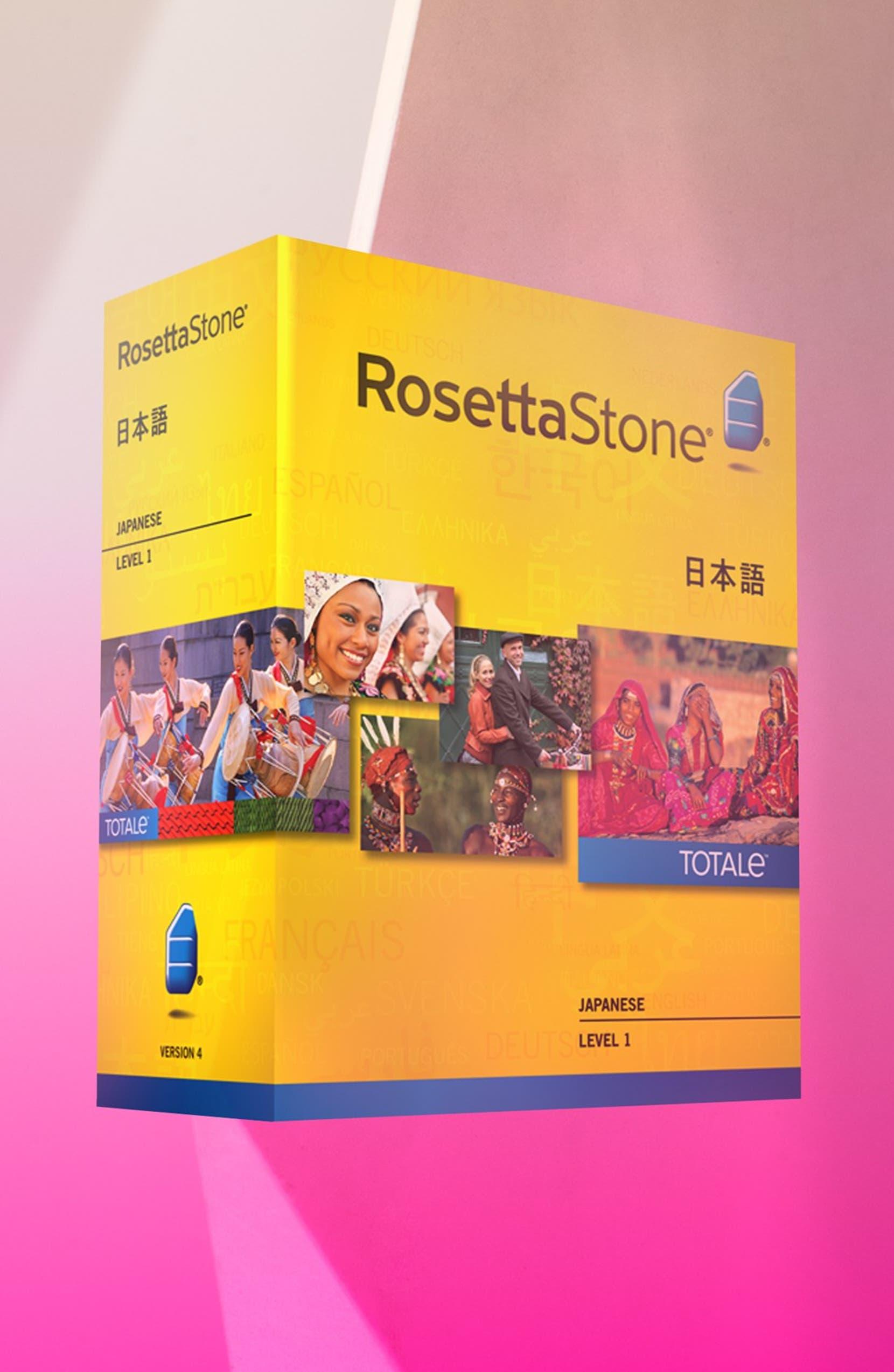 Rosetta Stone 'Japanese Level 1' Interactive Language