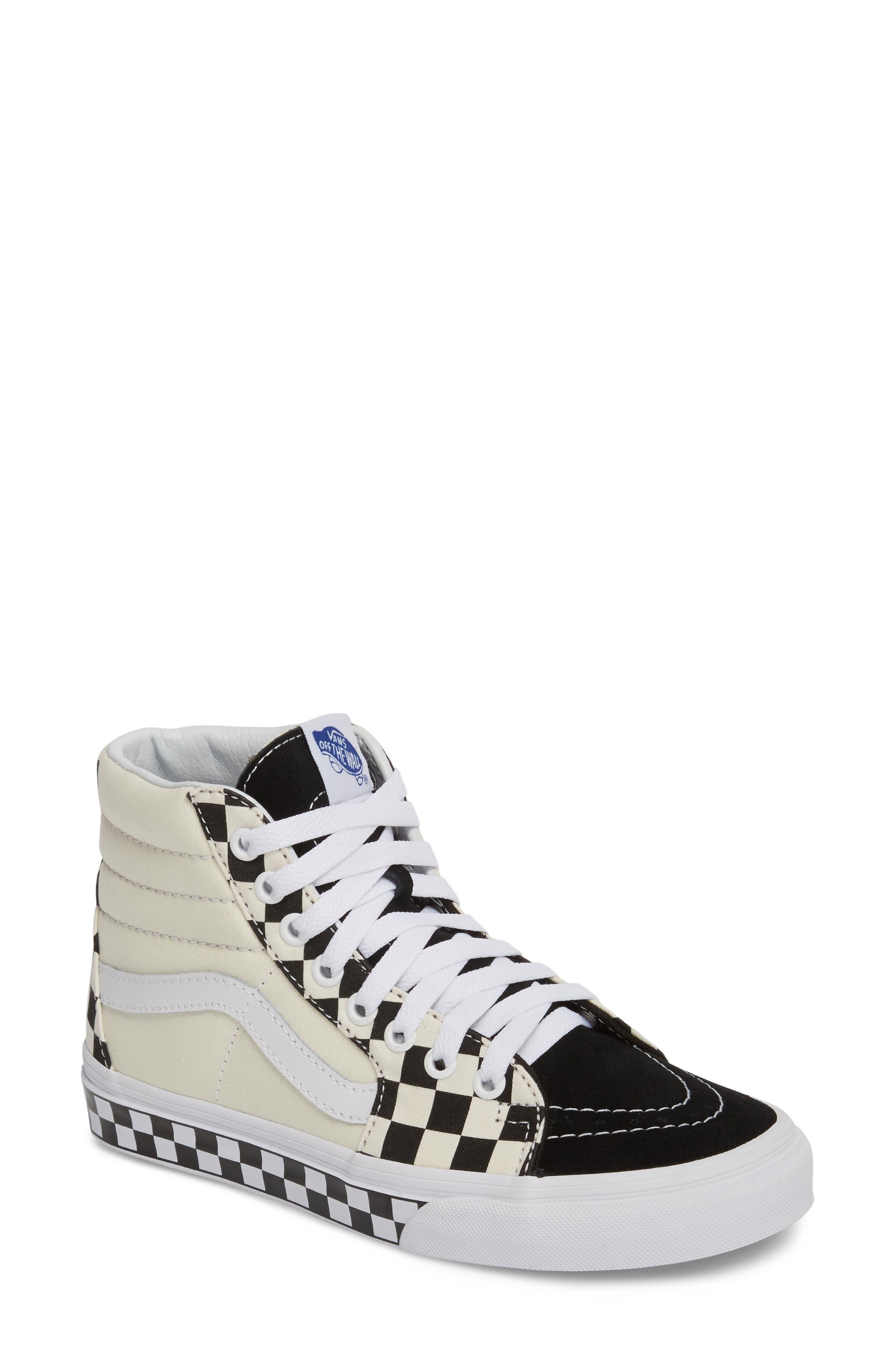 ,                             Sk8-Hi Checker Sneaker,                             Main thumbnail 17, color,                             100