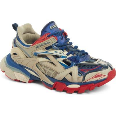 Balenciaga Track Low Top Sneaker, Beige