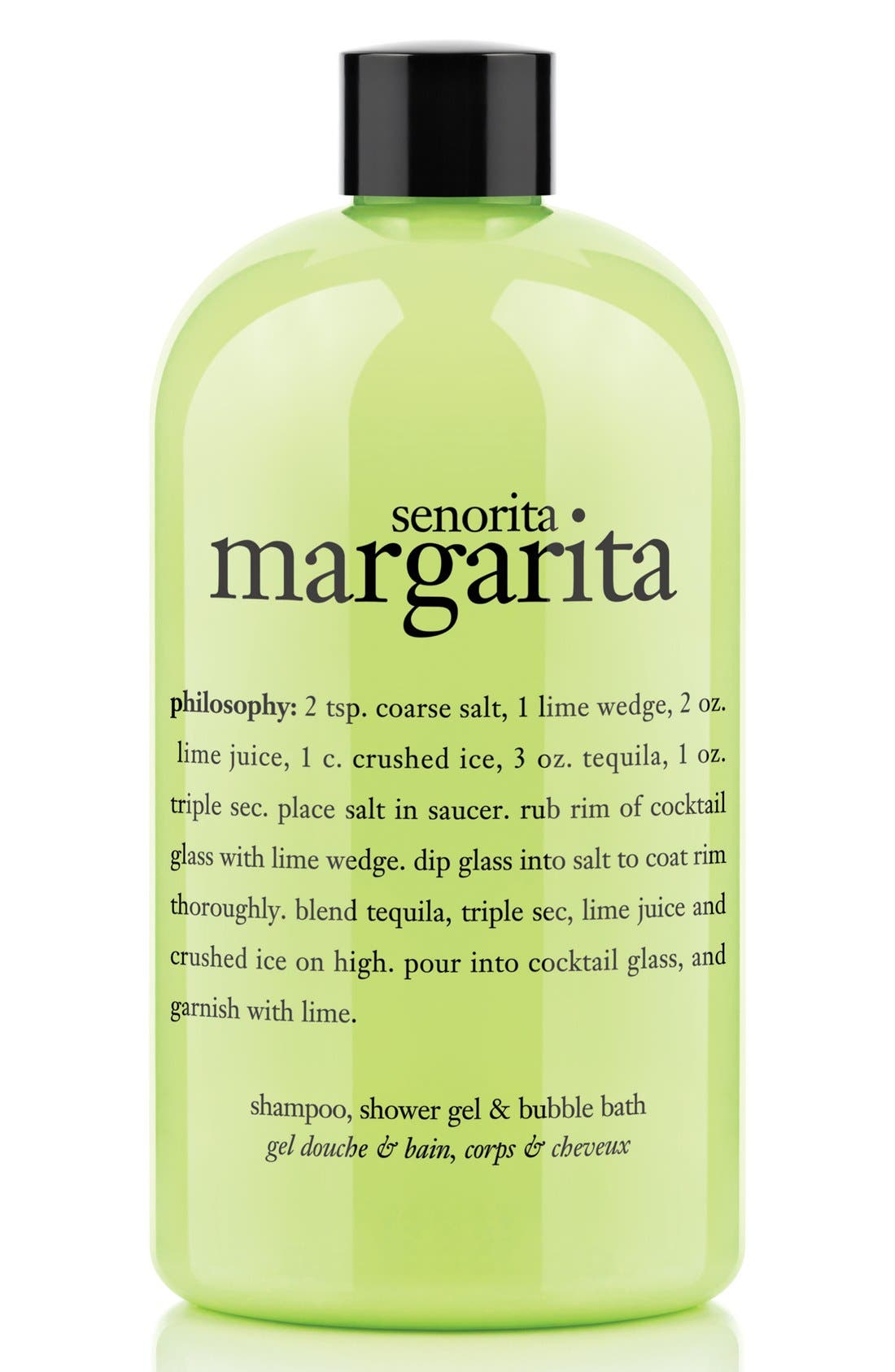 ,                             'señorita margarita' shampoo, conditioner & body wash,                             Main thumbnail 1, color,                             NO COLOR