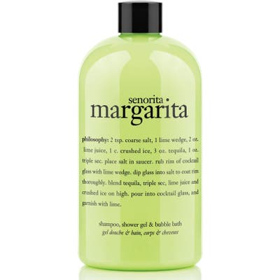Philosophy Senorita Margarita Shampoo, Shower Gel & Bubble Bath, oz