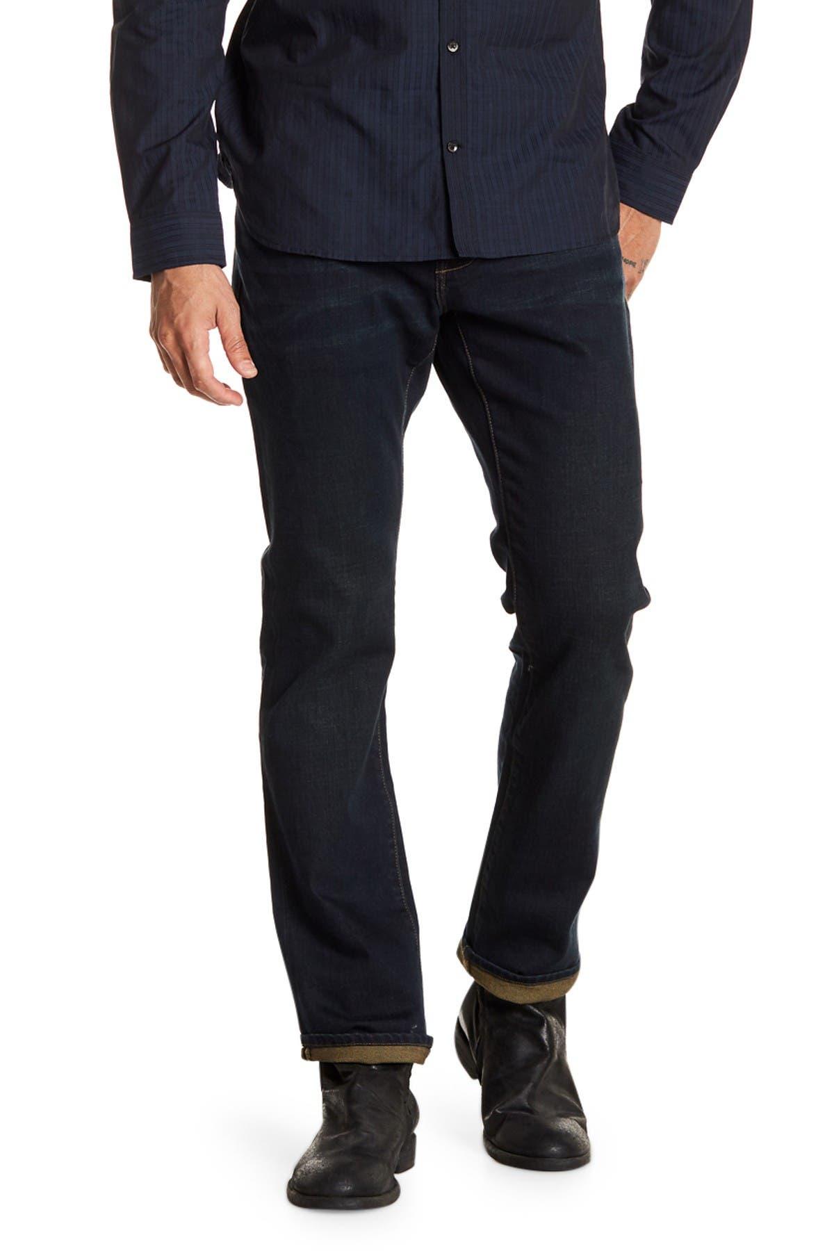 Image of John Varvatos Star USA Bowery Slim Straight Jeans
