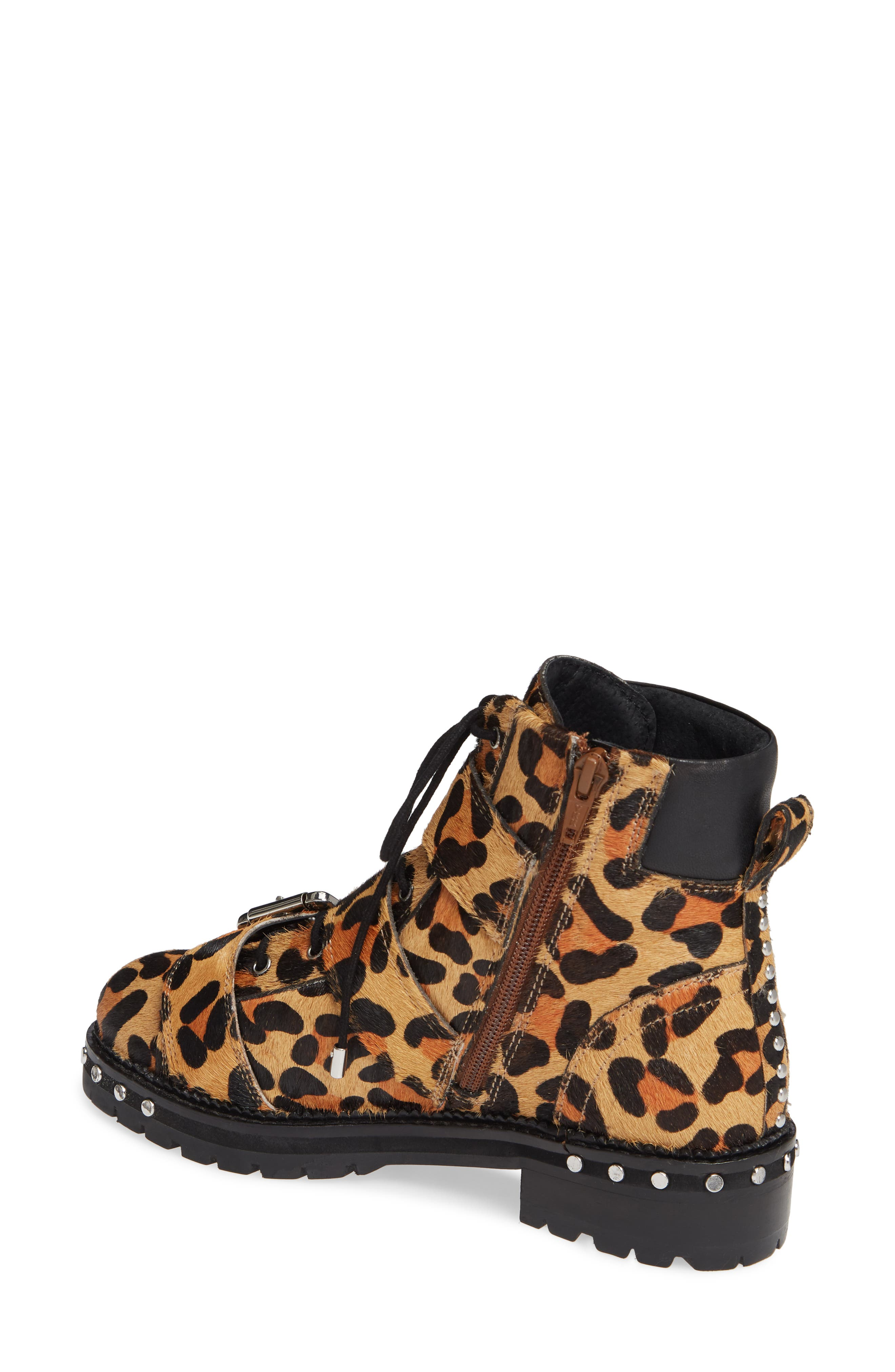 ,                             Animal Studded Boot,                             Alternate thumbnail 8, color,                             211