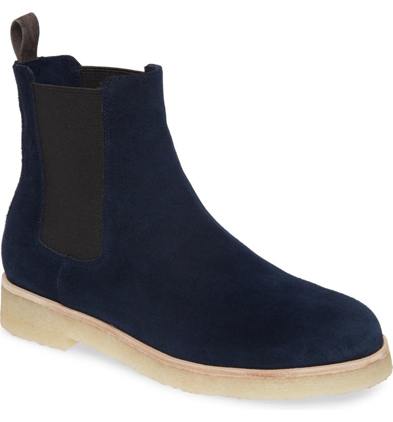 BAND OF GYPSIES Ophir Bootie, Main, color, NAVY SUEDE