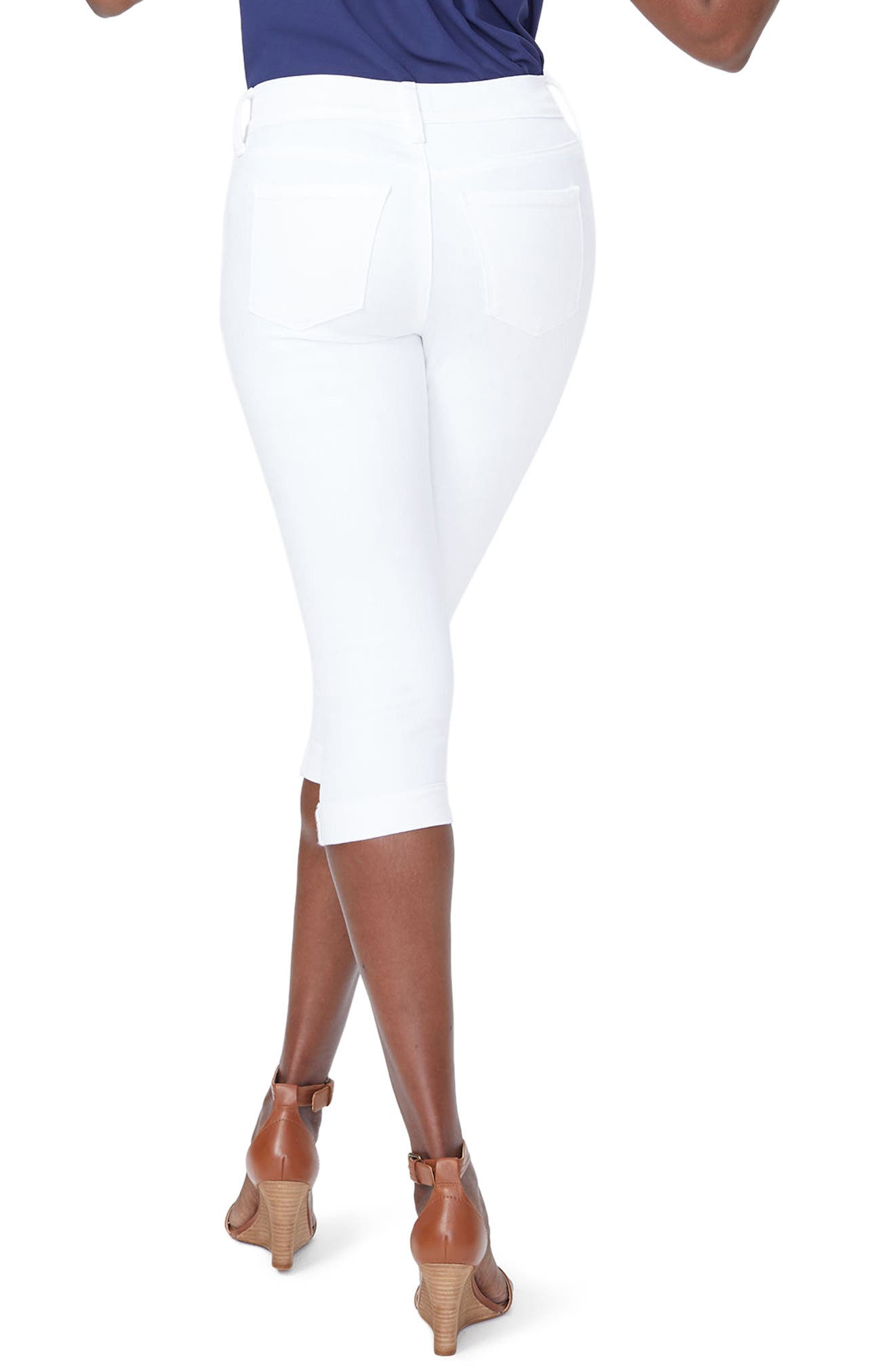 ,                             Marilyn Crop Jeans,                             Alternate thumbnail 2, color,                             OPTIC WHITE