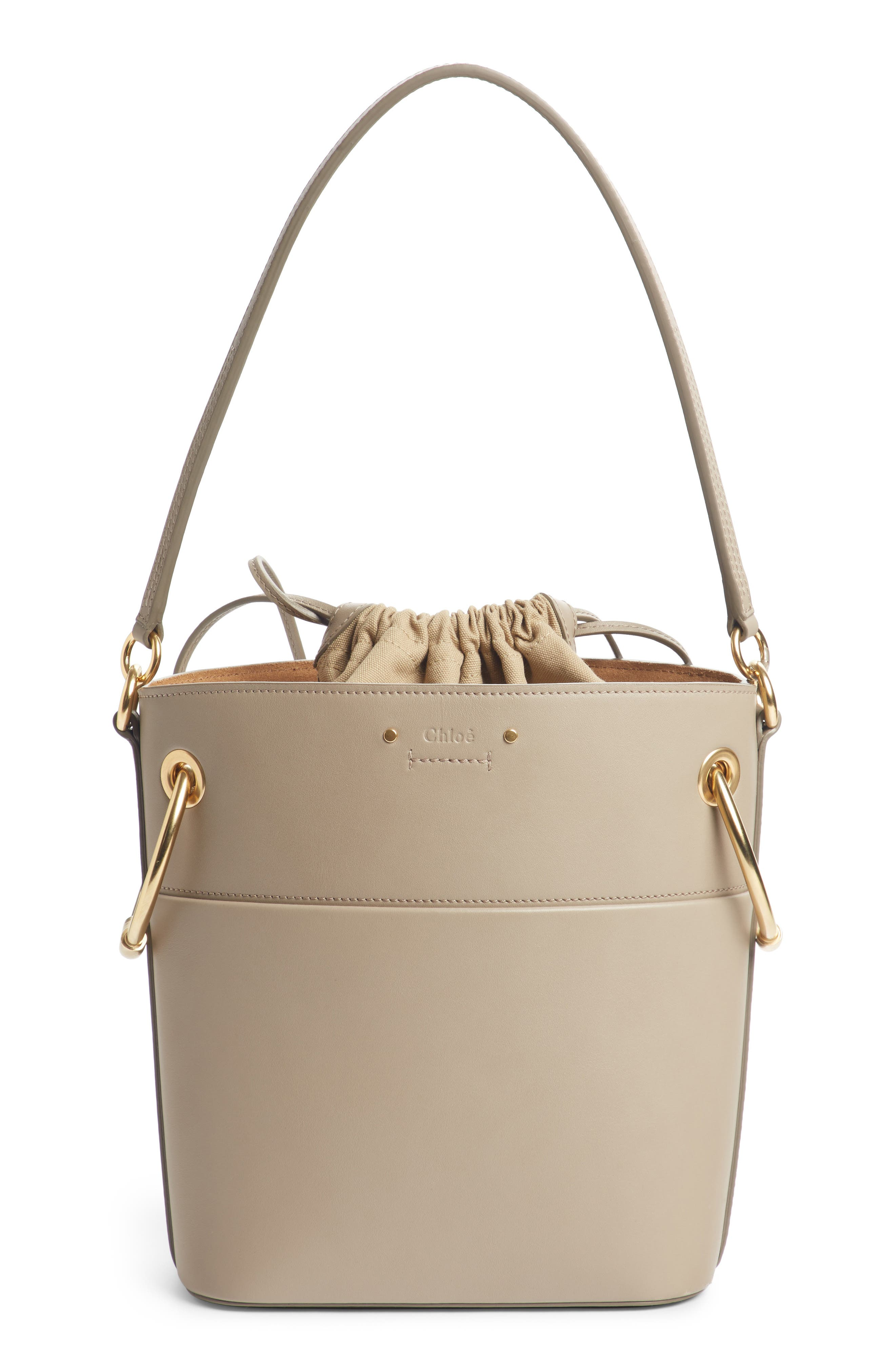 ,                             Roy Small Leather Bucket Bag,                             Main thumbnail 9, color,                             020