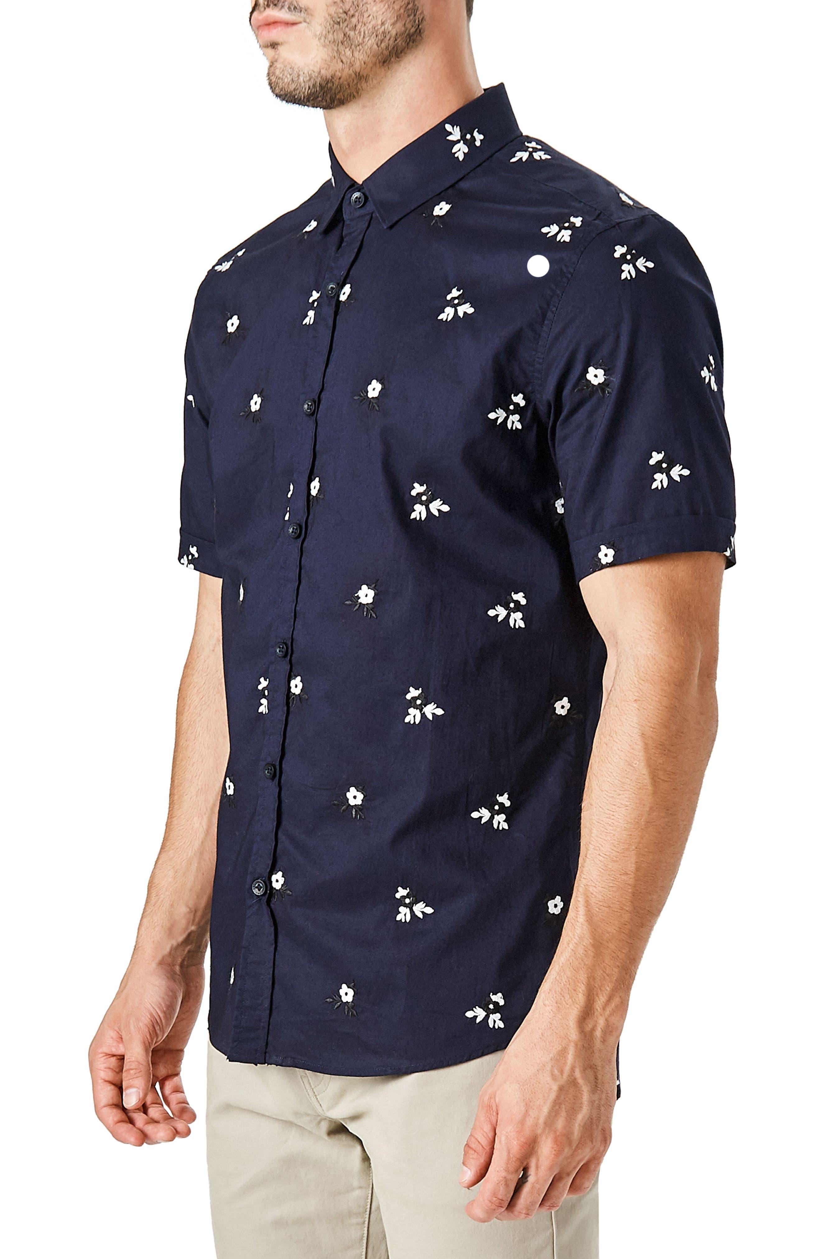 ,                             Isolator Woven Shirt,                             Alternate thumbnail 3, color,                             NAVY