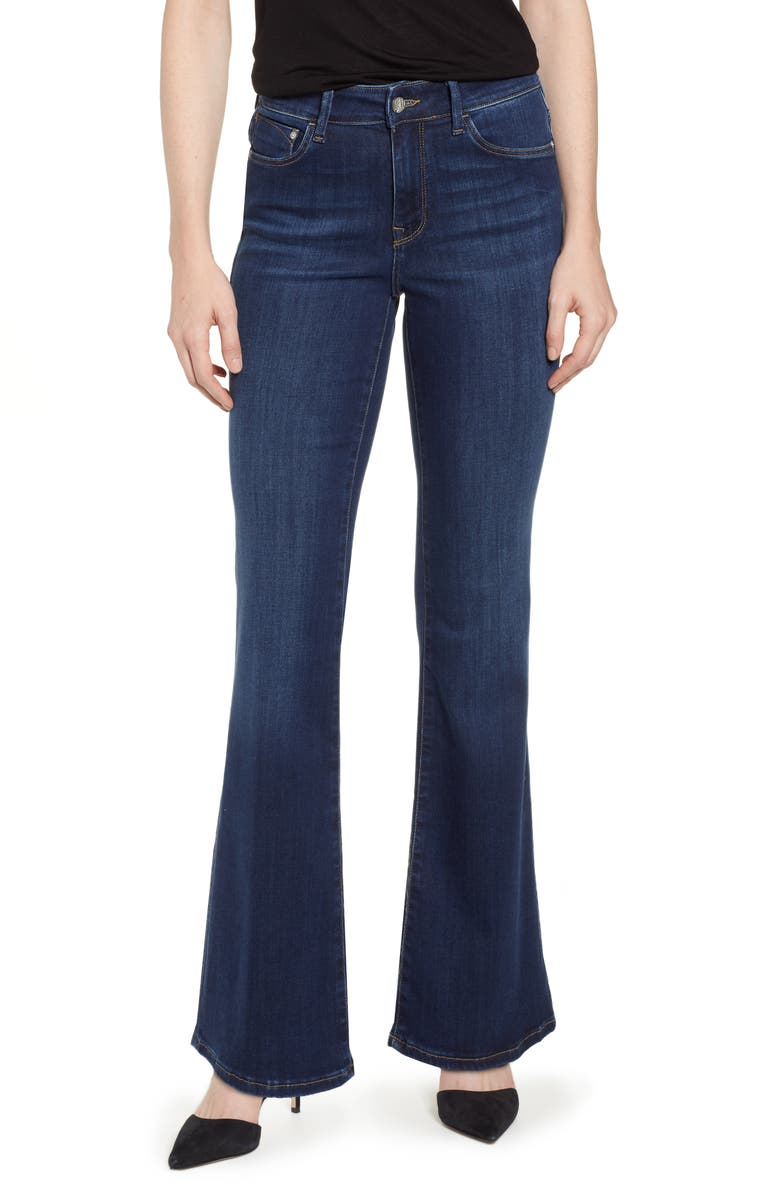MAVI JEANS Sydney Flare Jeans, Main, color, DARK SUPER SOFT