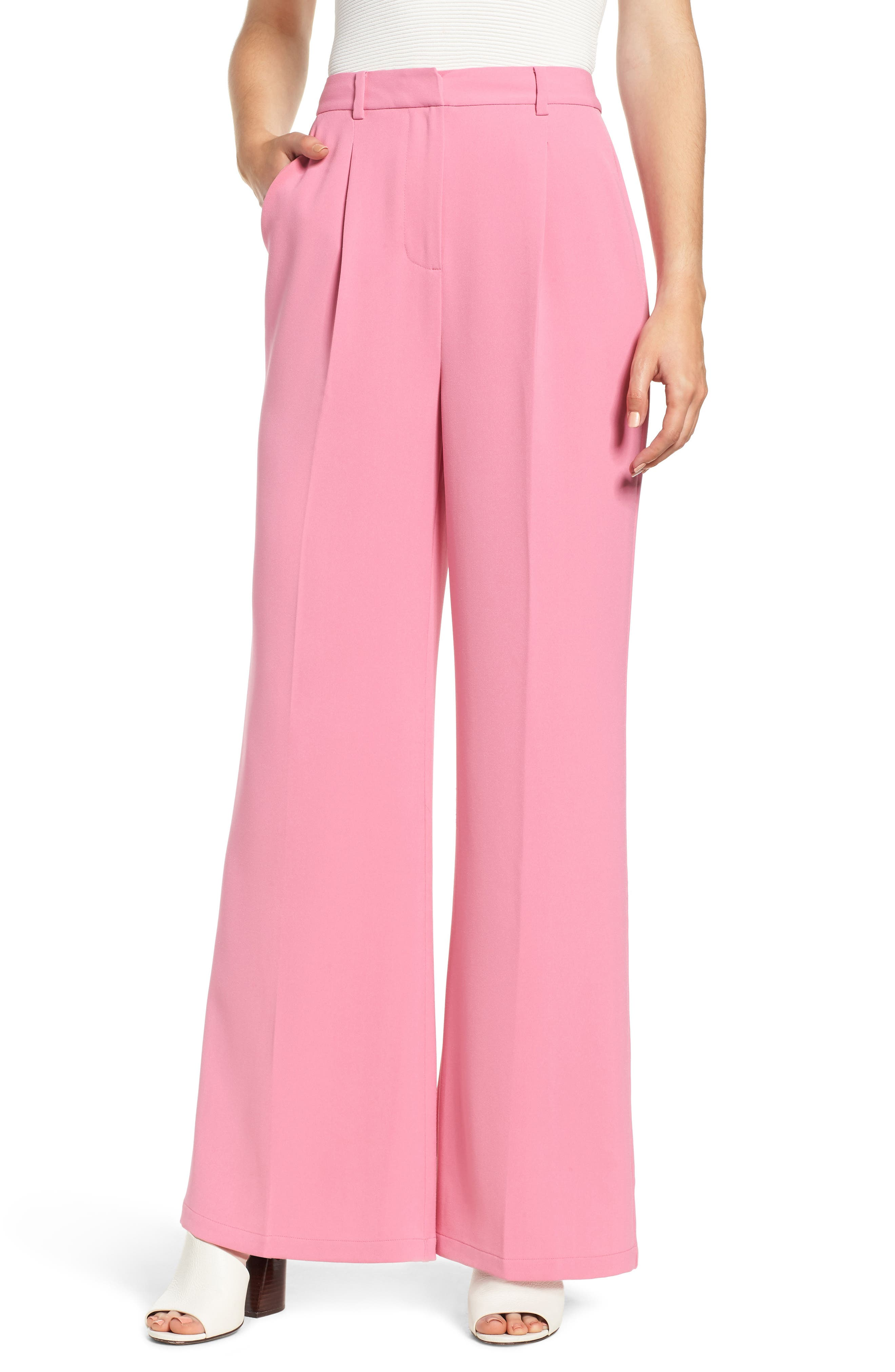 ,                             High Waist Flare Pants,                             Main thumbnail 30, color,                             660