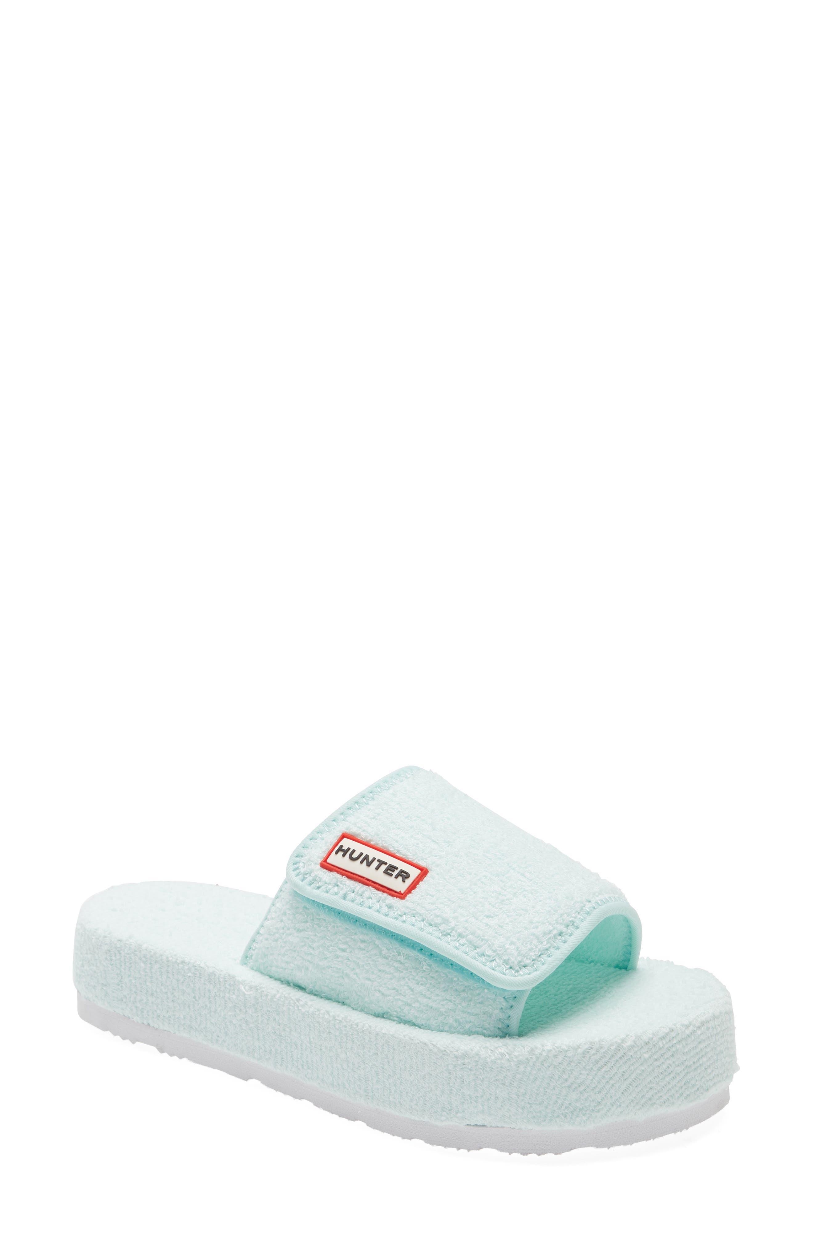 Terry Toweling Beach Sandal