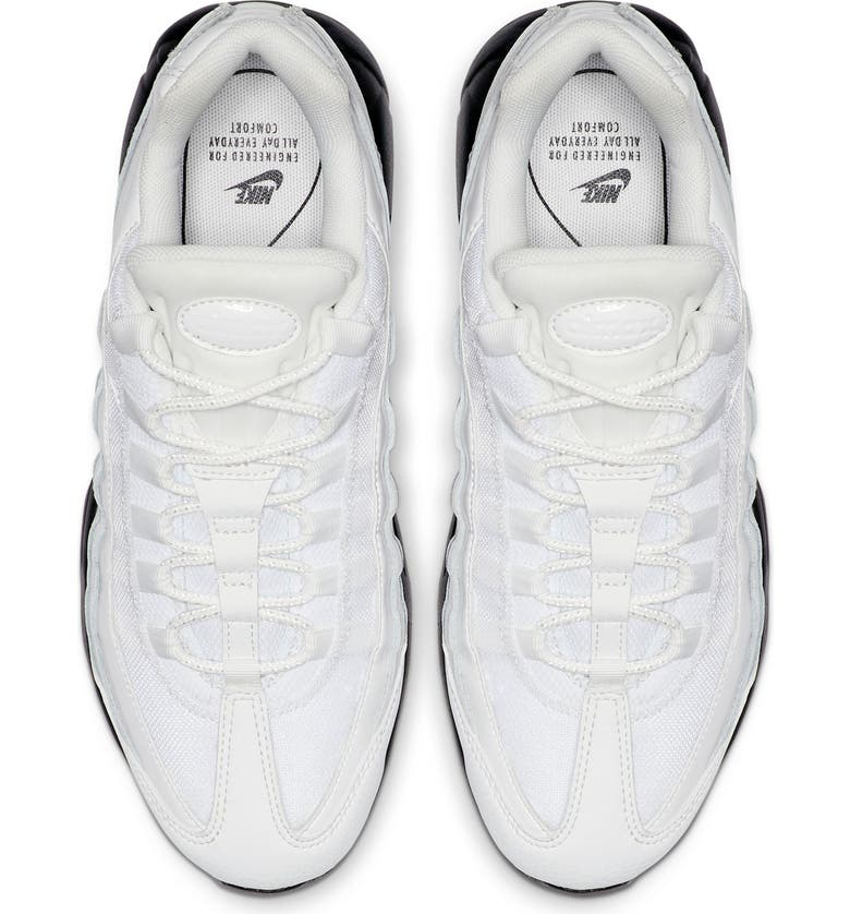 NIKE Air Max 95 SE Running Shoe, Alternate, color, SUMMIT WHITE/ BLACK