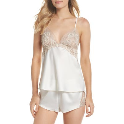 Flora Nikrooz Rosa Charm Short Pajamas, Ivory
