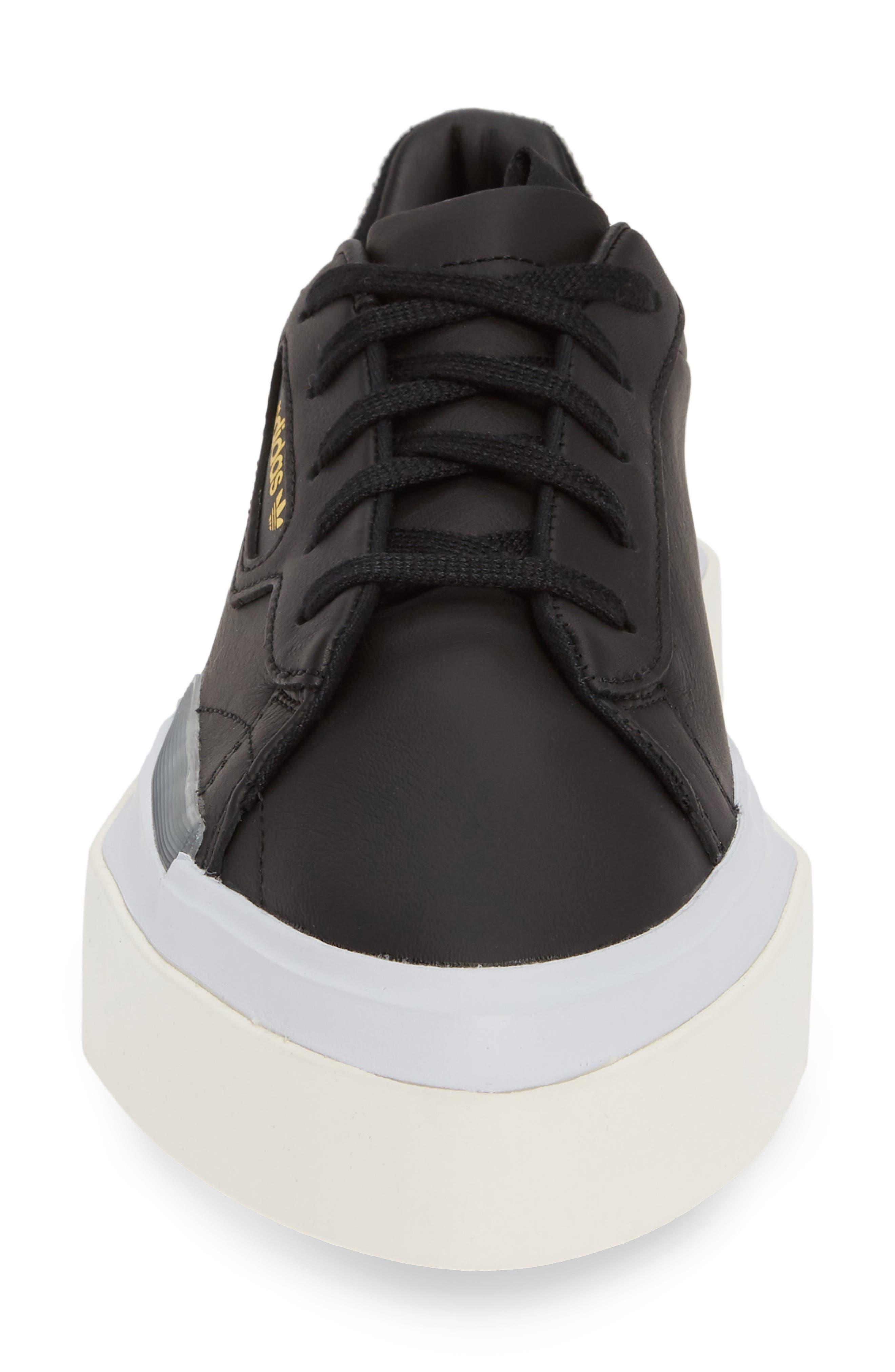 ,                             Hypersleek Platform Sneaker,                             Alternate thumbnail 4, color,                             CORE BLACK/ AERO BLUE