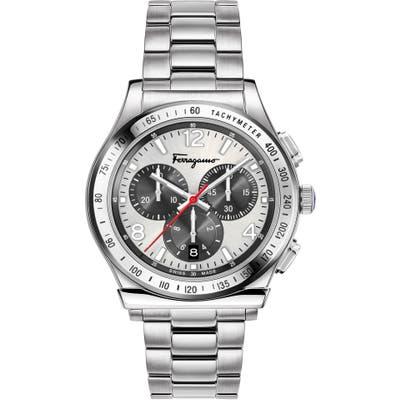 Salvatore Ferragamo 1898 Chronograph Bracelet Watch, 42Mm