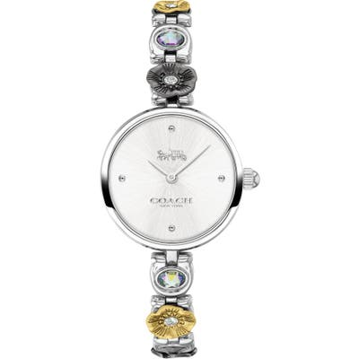 Coach Park Tea Rose Bracelet Watch, 2m