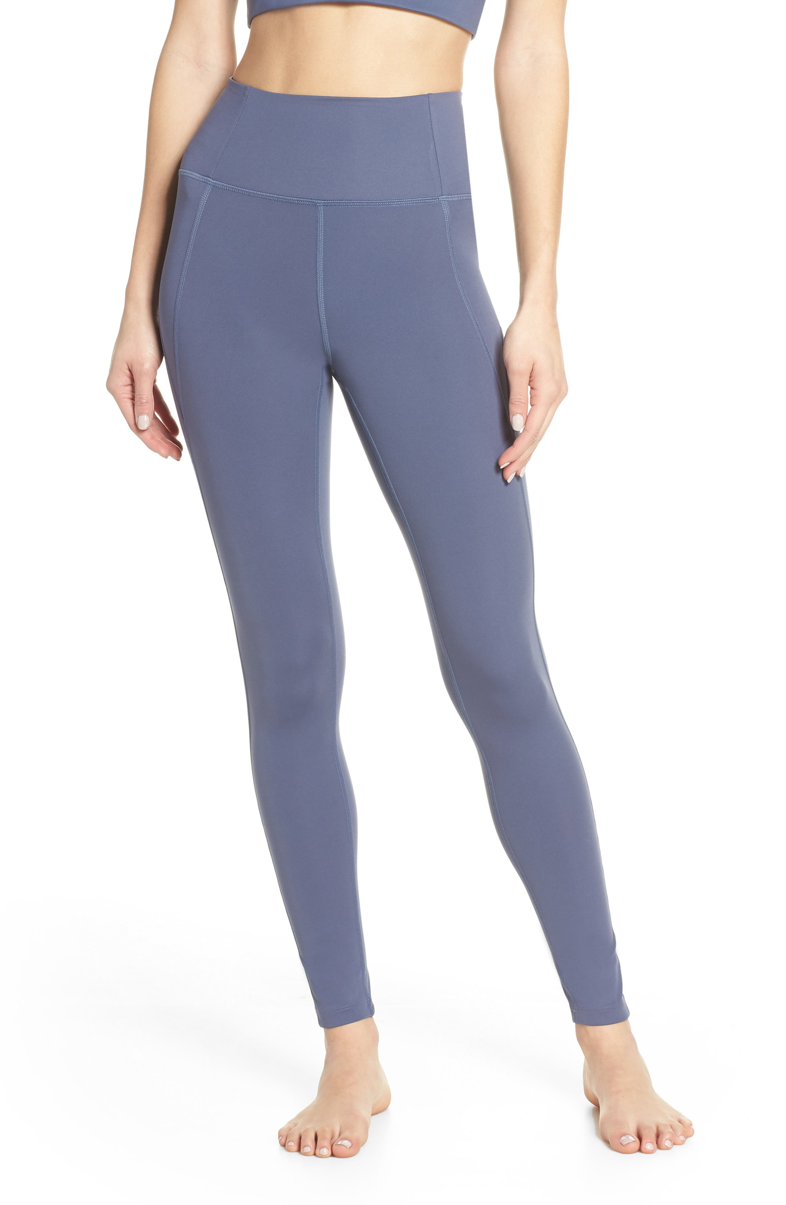 Girlfriend Collective High Waist Full Length Leggings, Purple