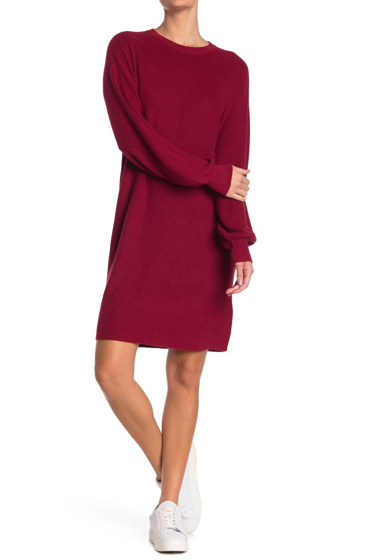 Image of Michael Stars Layla Crew Neck Sweater Dress