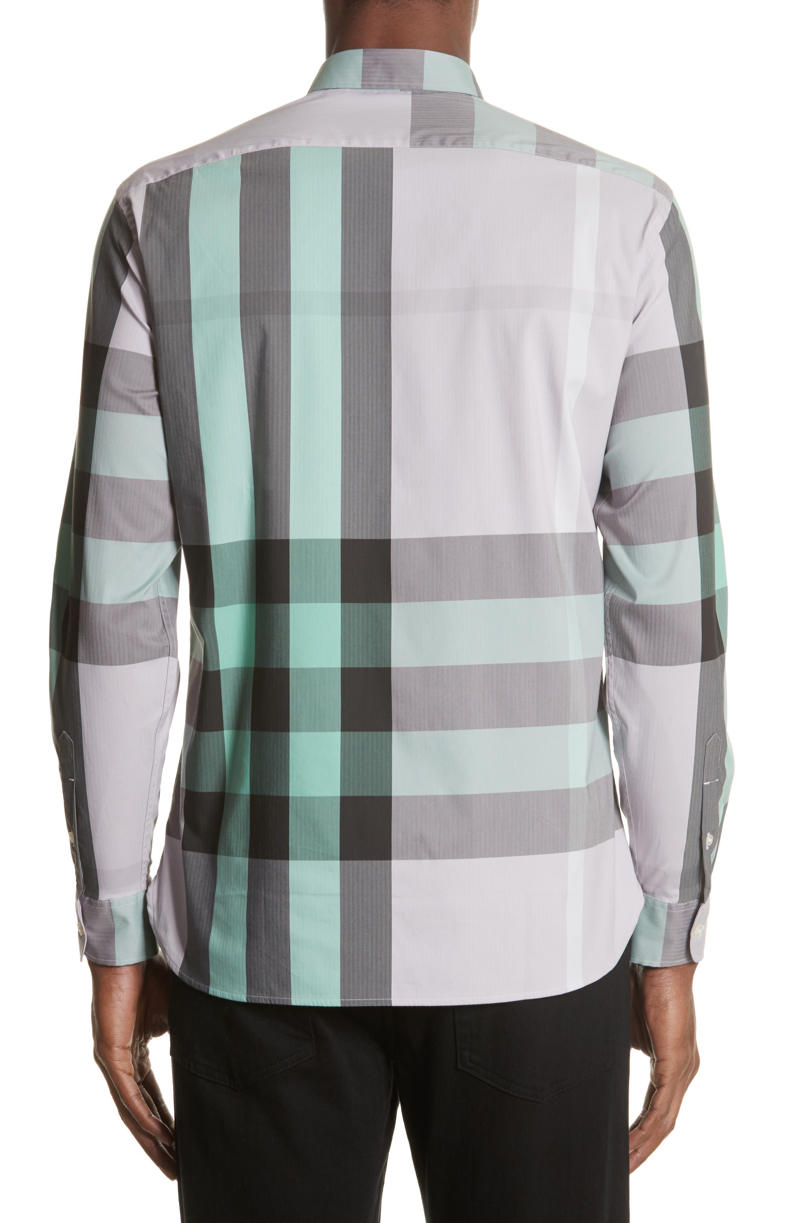 ,                             Thornaby Slim Fit Plaid Sport Shirt,                             Alternate thumbnail 41, color,                             510