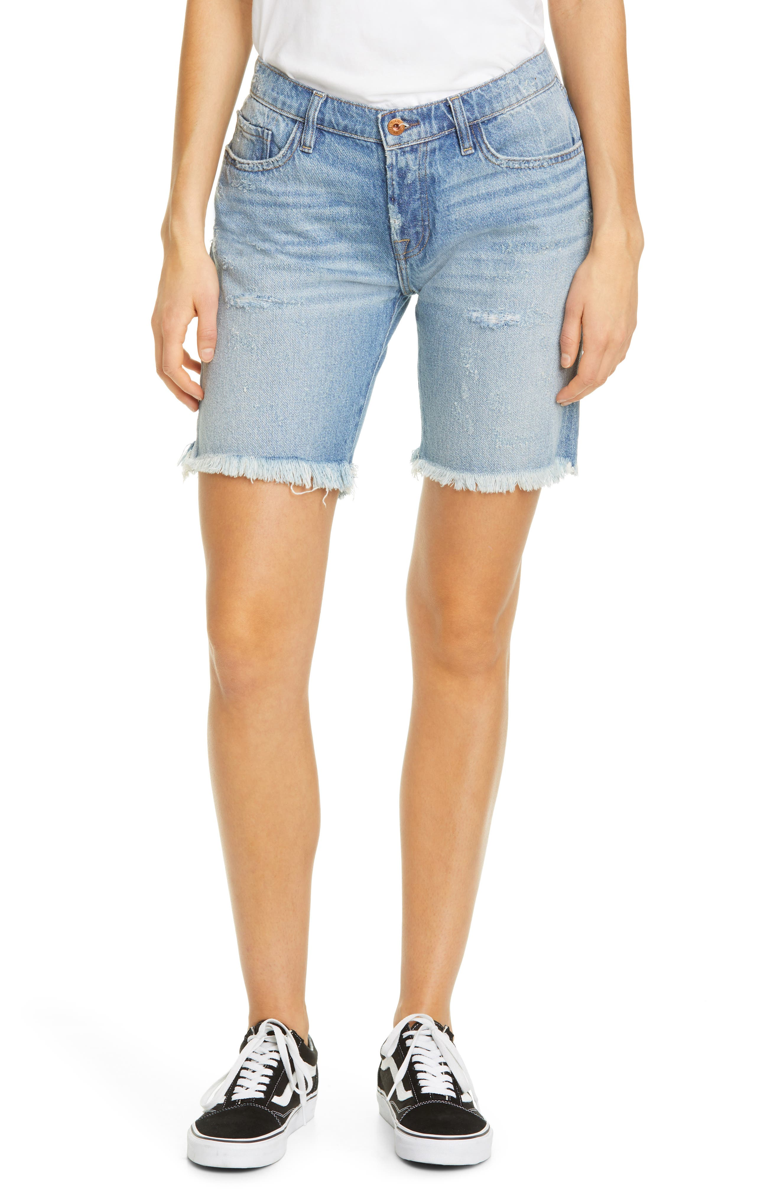 Image of NSF CLOTHING Jane Denim Shorts
