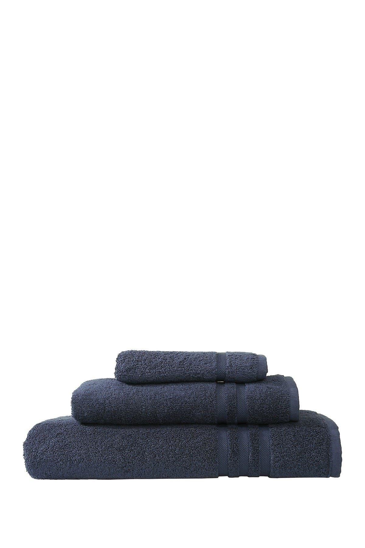 Image of LINUM TOWELS Denzi 3-Piece Towel Set - Twilight Blue
