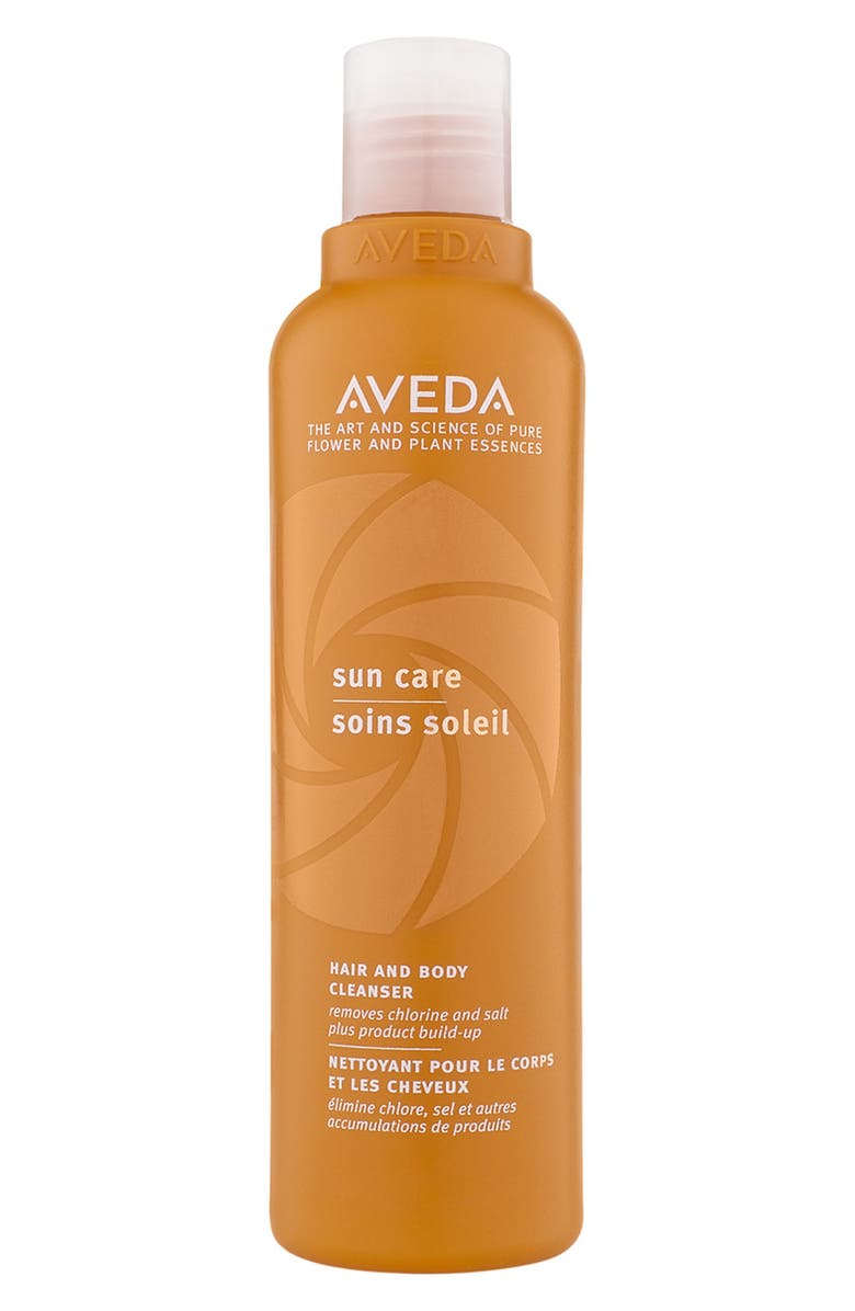 AVEDA Sun Care Hair & Body Cleanser, Main, color, 000