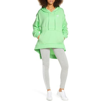Adidas Originals High/low Hoodie, Green